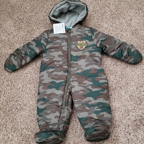 de3921bc2 child of mine Jackets & Coats | Carters Baby Boy Puffer Snow Suit ...